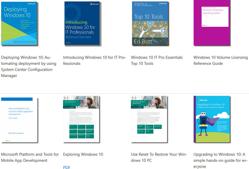 free ebook microsoft product