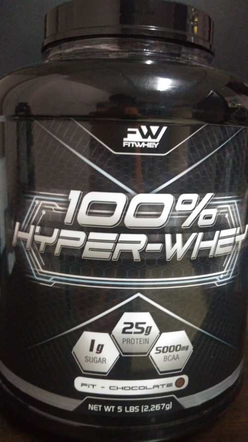 fitwhey front label